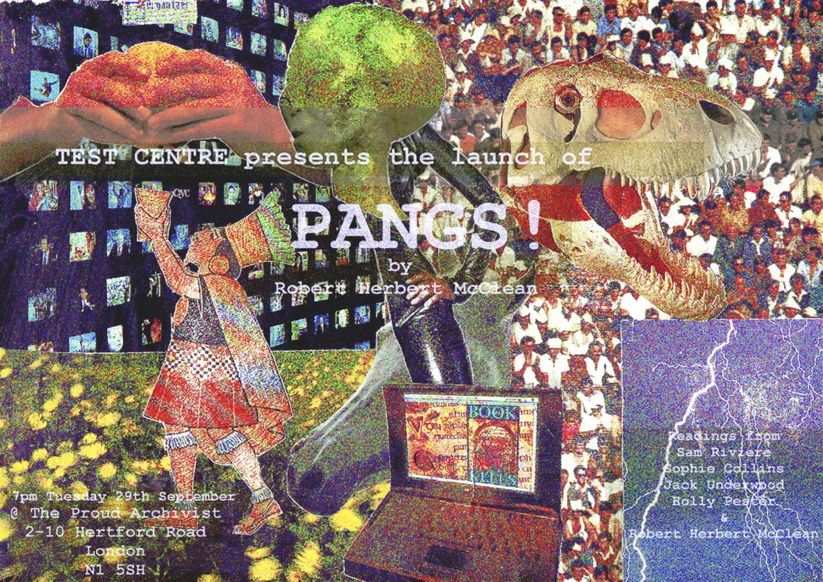 Pangs! launch poster